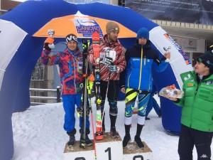 FIS Combi 14.01 Santa Caterina 2.Platz Kastlunger
